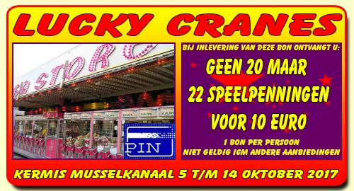 Lucky Cranes